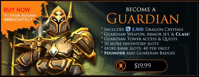 AQ3D Guardian and DragonCrystals Packages – Artix Support